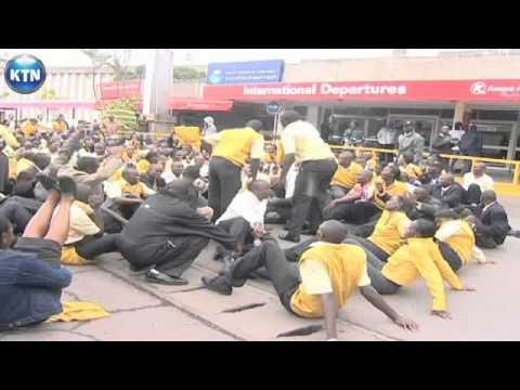 Kenya Airports Authority staff strike