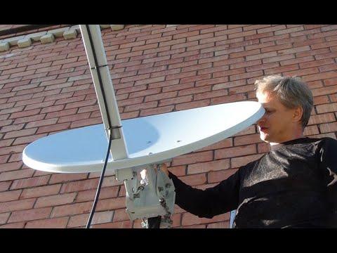 Спутниковый интернет на дачу своими руками