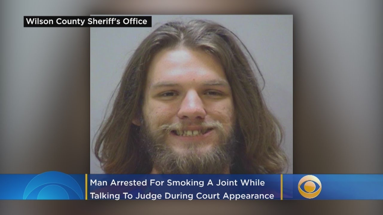 'One Of The Craziest Things I've Seen': Man Arrested For Smoking Joint During Court Appear