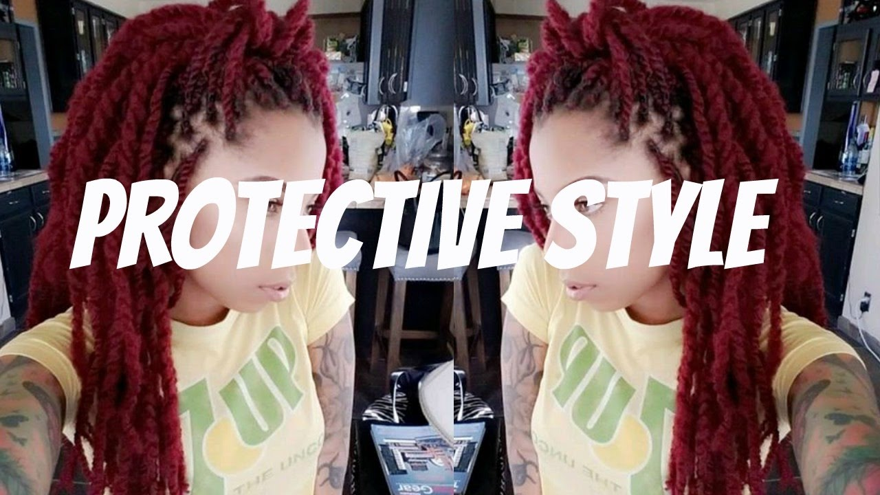 protective styles to grow hair long protective hairstyles for hair growth 8382 | maxresdefault