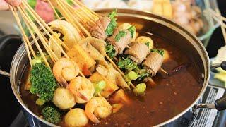 Spicy and Numbing Hot Pot Skewers (火锅串串)