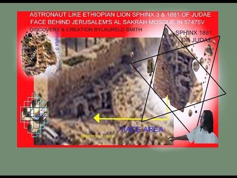 NIBIRU & JERUSALEM'S ETHIOPIAN LION SPHINX 1881 FACE DISCOVERY