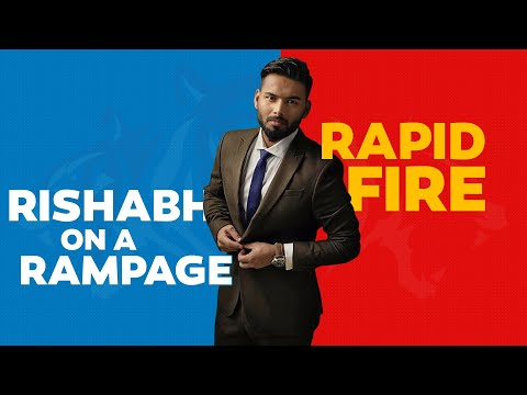 Rapid Fire Ft. Rishabh Pant
