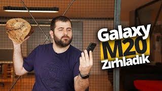 Samsung Galaxy M20'yi Spigen ile zırhladık!