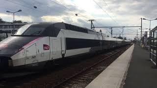 Compilation Sur La Ligne 1 Paris Nancy Strasbourg TGV Ter Ouigo Ligne E et P du 3 Septembre 2018
