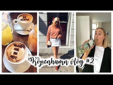 Köpenhamn Vlog #2 | Brunch, sol, shopping och nattklubb |