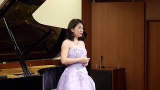 若き声楽家たちの華麗なる挑戦 吉野優美 ピアノ・高山真由香.