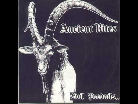 """ancient rites """"evil prevails"""""""