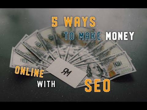 5 Ways To Make Your First $1,000 Online With SEO
