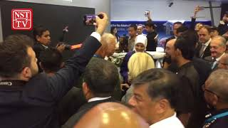 Najib makes history with order to launch artillery at distant training site