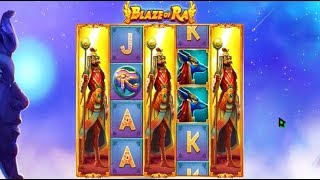 Machine à sous BLAZE OF RA - Le Jackpot gagnant en fin de partie !