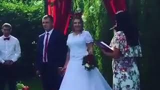 Свадебное счастье на природе сызранской пары