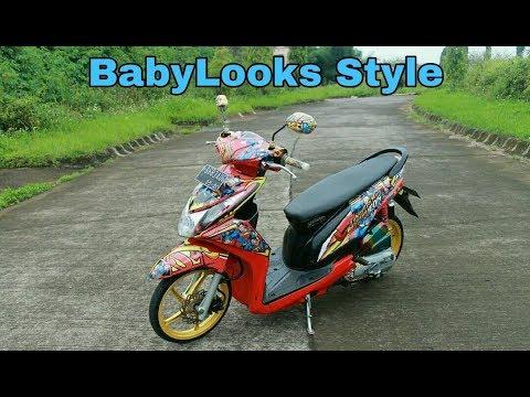 Video Modifikasi Honda Beat Babylooks Style Simple Elegant