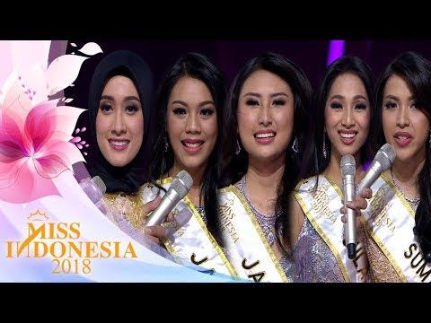 Inilah Nominasi 5 Besar   Miss Indonesia 2018