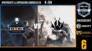 #RainbowSixSiegeCups - Primer final entre Shadows E-Sports Club y Xenocide Gaming
