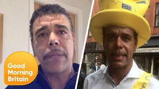 Chris Kamara Encourages People to Stay Home and Safe | Good Morning Britain