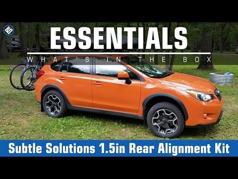 Subtle Solutions 1 5 Inch Rear Alignment Kit - 2014+