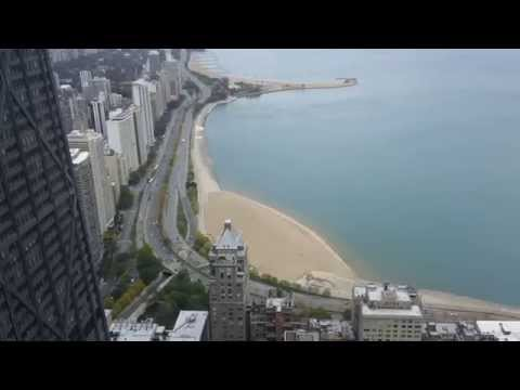 Sky view of Lake Shore Drive and John Hancock Building 7