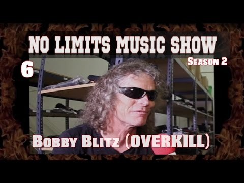 NLMS 2.6: Bobby Blitz of OVERKILL, Albums & Video of the Year; METALLICA Live)