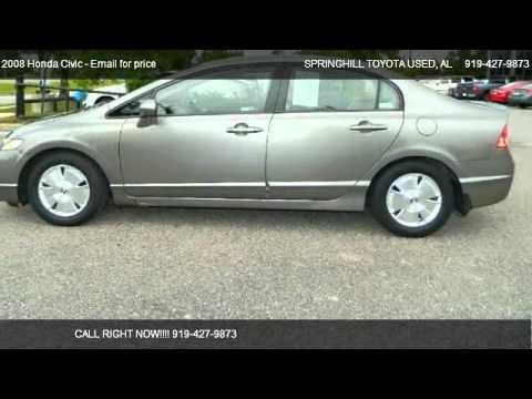 2008 Honda Civic - for sale in Mobile, AL 36606