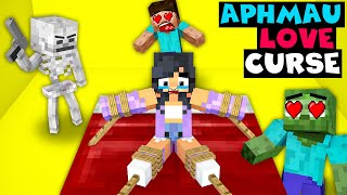 Monster School : Aphmau Love Curse Challenge - Minecraft Animation