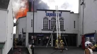 Cinema Fire Lyme Regis