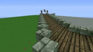 Cosmiccraft - Megabuild - Episode 1 - Walls,northgate,houses.wmv