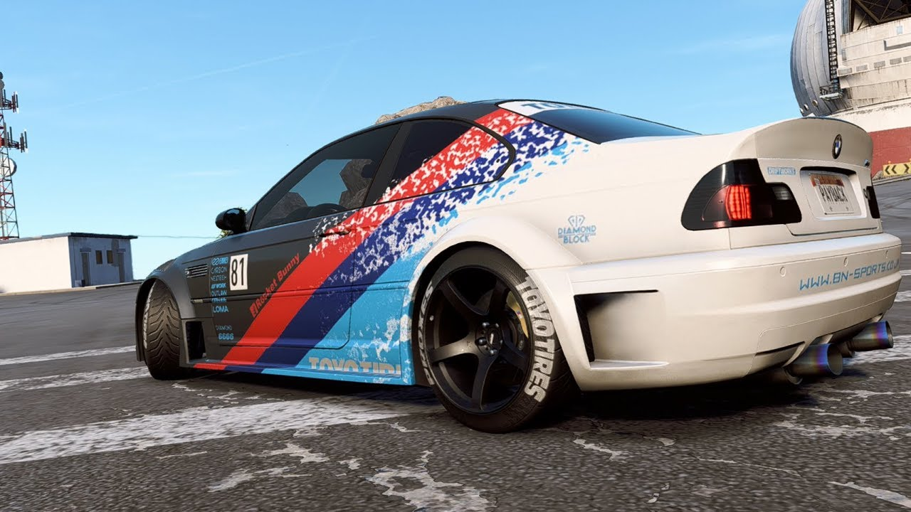 Need For Speed Payback Bmw M3 Drift Build Youtube