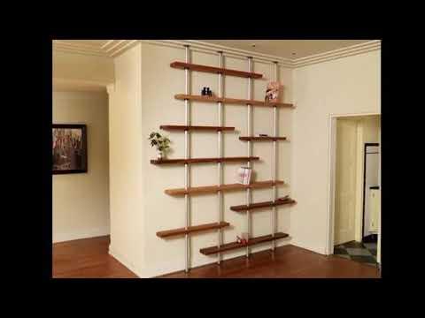 adjustable shelving adjustable wall mounted garage shelving space saving solutions youtube. Black Bedroom Furniture Sets. Home Design Ideas