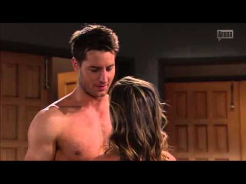 Justin Hartley Shirtless in The Young And The Restless