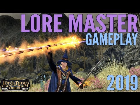 LOTRO: Lore Master Gameplay 2019 – ALL Specs (Lord of the Rings Online)