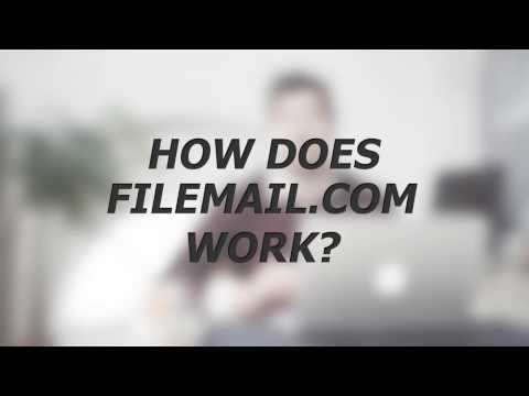How to send large files in email with Filemail