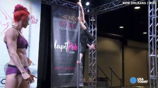 Pole dancers flock to New Orleans for competition