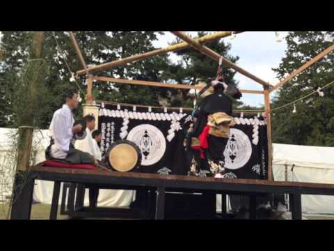 "Japanese Shinto music called Kagura ""Kagura of Mt. Hayachine"" 鳥舞 1"