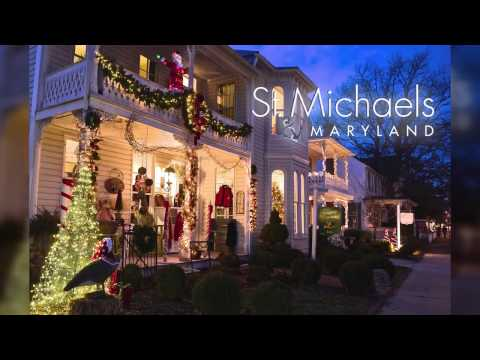 Christmas in St. Michaels, Maryland December 9-11, 2016