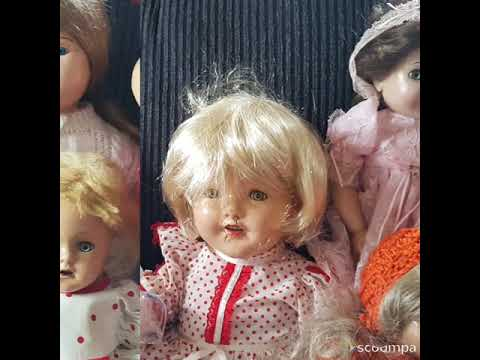 Barbara hard plastic and composition doll collection