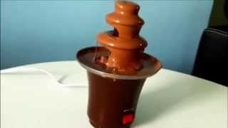 Шоколадный фонтан 'Chocolate Fondue Fountain mini'(, 2015-02-17T20:11:40.000Z)