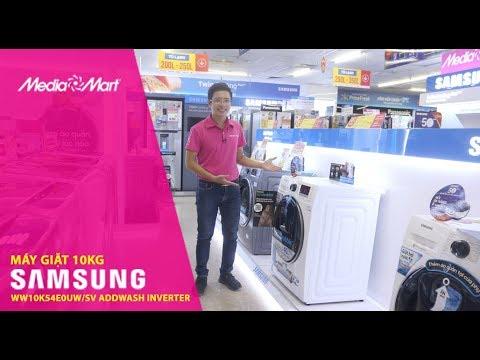 Máy giặt 10Kg Samsung WW10K54E0UW/SV Addwash Inverter – Đẳng cấp, sang trọng