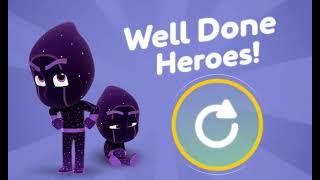 Мультик игра Герои в масках: Время Ниндзялино (Night Time Ninjalinos)