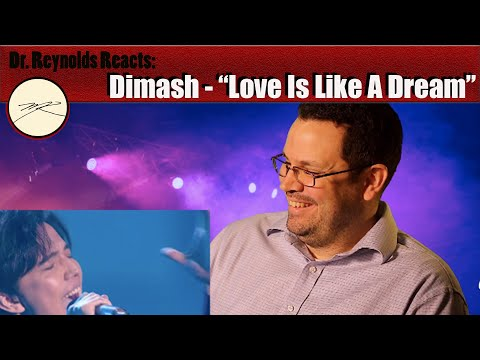 """Voice Teacher reacts and analyzes Dimash performing """"Love is Like a Dream"""""""