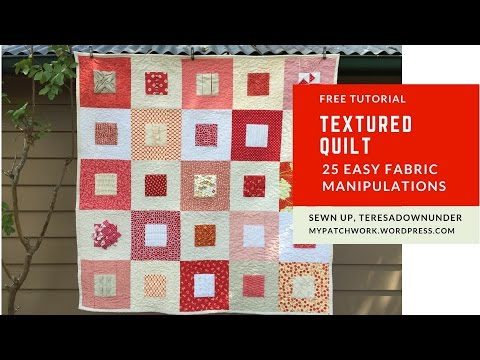 41 fabric manipulation tutorials | Sewn Up