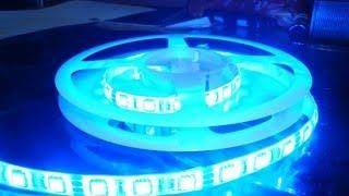 Экспресс обзор №29. Светодиодная лента RGB 5 метров (aliexpress)(Подпишись в группу ВКонтакте http://vk.com/public62986310 Ссылка на ..., 2014-05-07T16:01:50.000Z)