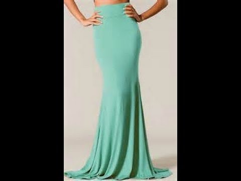 How To Make A Mermaid Skirt YouTube Beauteous Mermaid Dress Pattern