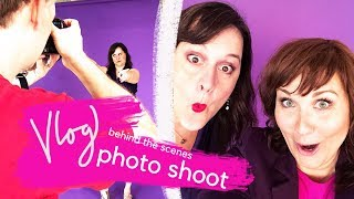 Day in the Life of a Comedian | Behind the Scenes Photo Shoot | VLOG 61