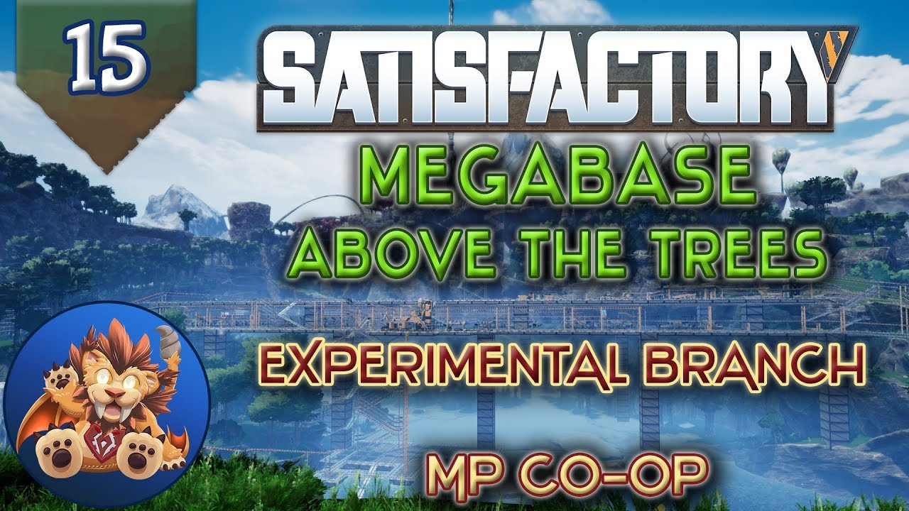 Satisfactory MP Ep 15: Experimental Toys & Base Update - Let's Play,  Gameplay
