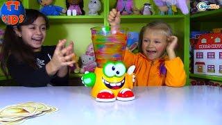 ШАРИКИ ОРБИЗ и ЛИЗУНЫ в БЛЕНДЕРЕ Frutti Frutti Kids game ORBEEZ Игры для Детей с Ярославой