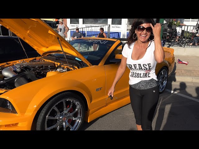 2008 Ford Mustang GT - Women Who Love Cars Series -  Morris Car Show - Greased Lightning
