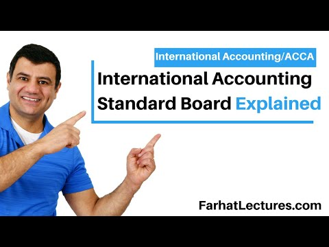 International Accounting Standard Board I IASB | International Financial Reporting Standards | IFRS