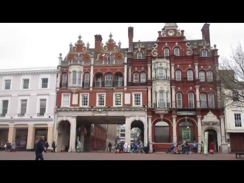 Ipswich, Suffolk. UK TRAVEL VIDEO