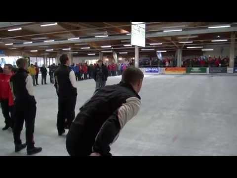 Eisstocksport Europacup 2014 Finale Herren